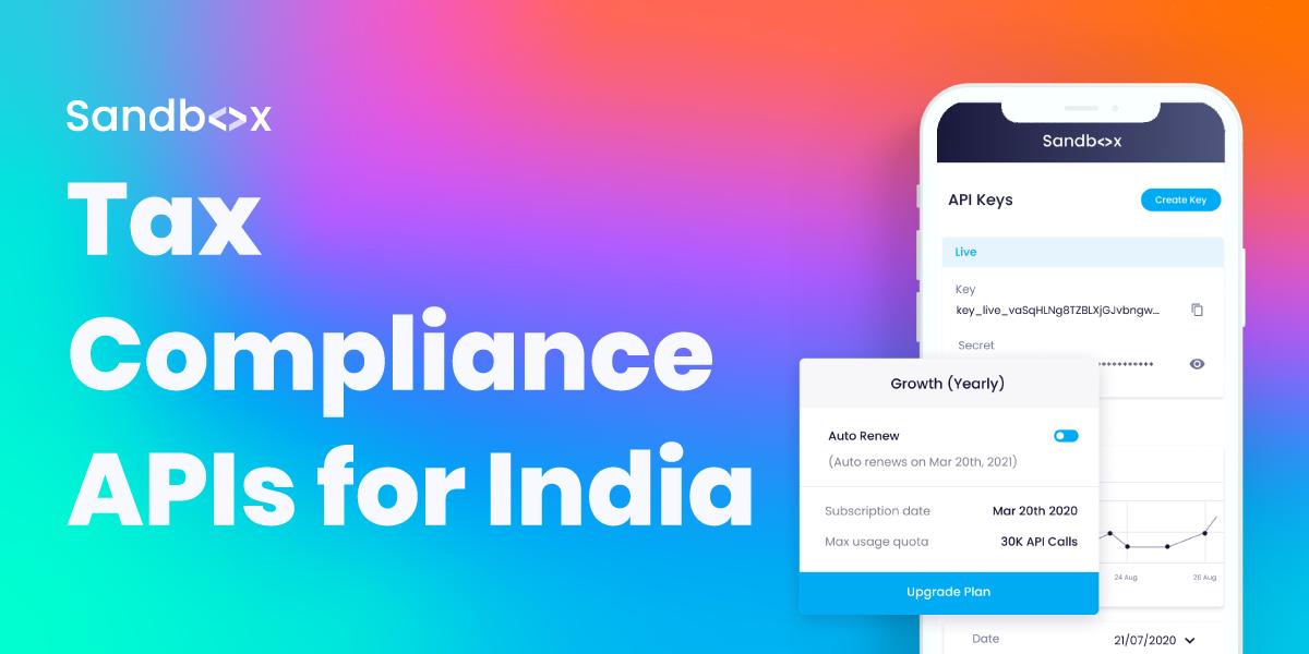 Contact Sales | Tax Compliance APIs for India | Sandbox
